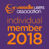 Moodle users association - individual member 2018