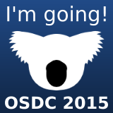 I'm going to the Open Source Developer's Conference!