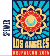 Speaker Badge - Los Angeles DrupalCon 2015