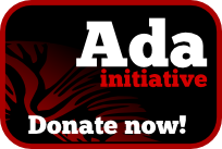 Support women in open tech and culture - Donate to The Ada Initiative