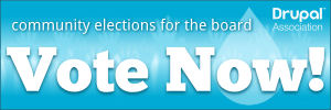 VOTE NOW - community elections for the board of the Drupal Association